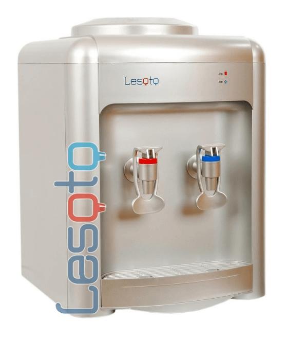 Настольный кулер для воды LESOTO 36 TD silver