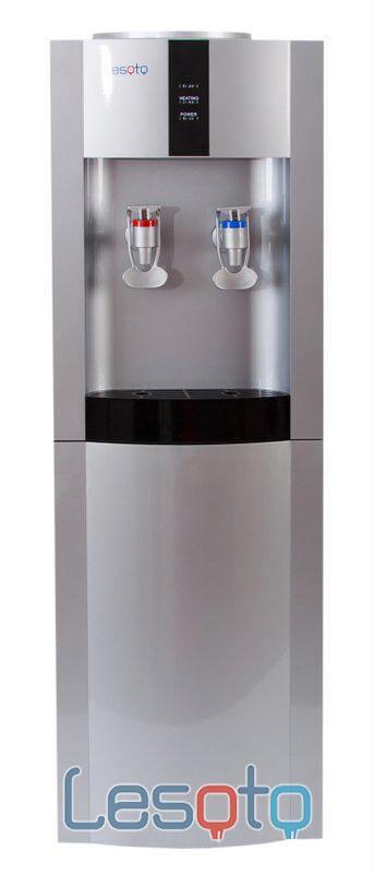 Кулер для воды LESOTO 16 L-B/E silver-black