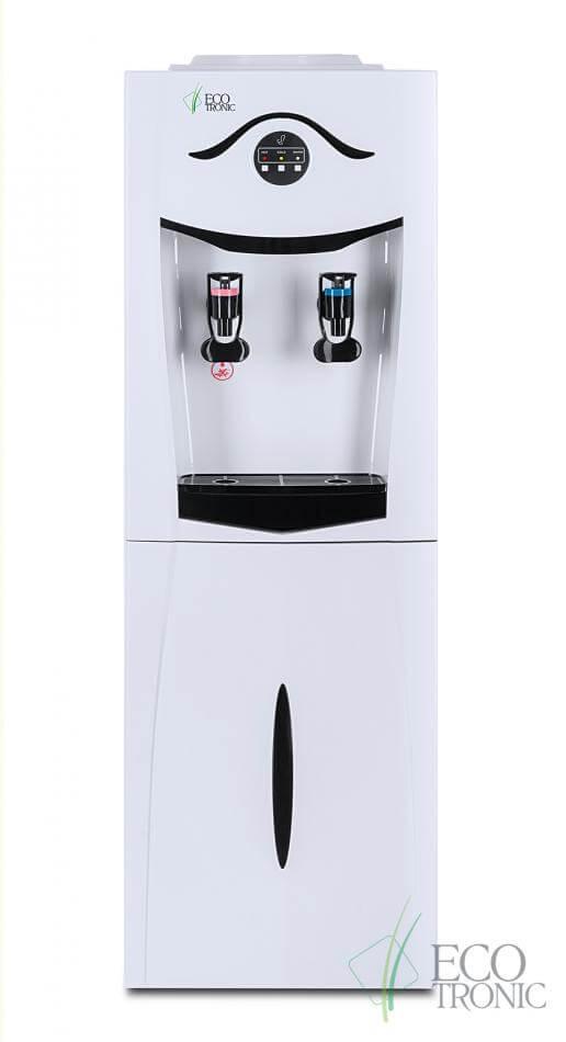 Кулер Ecotronic K21-LCE white-black