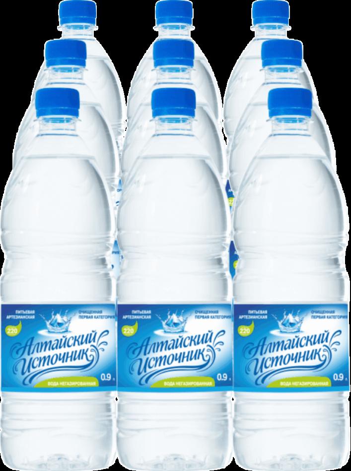 Вода питьевая «Алтайский источник» негазированная