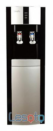 Напольный кулер для воды LESOTO 16 LD/E black-silver
